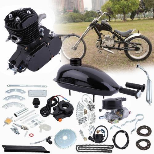 80cc 2-Stroke Motor Engine Kit Gas for Motorized Bicycle