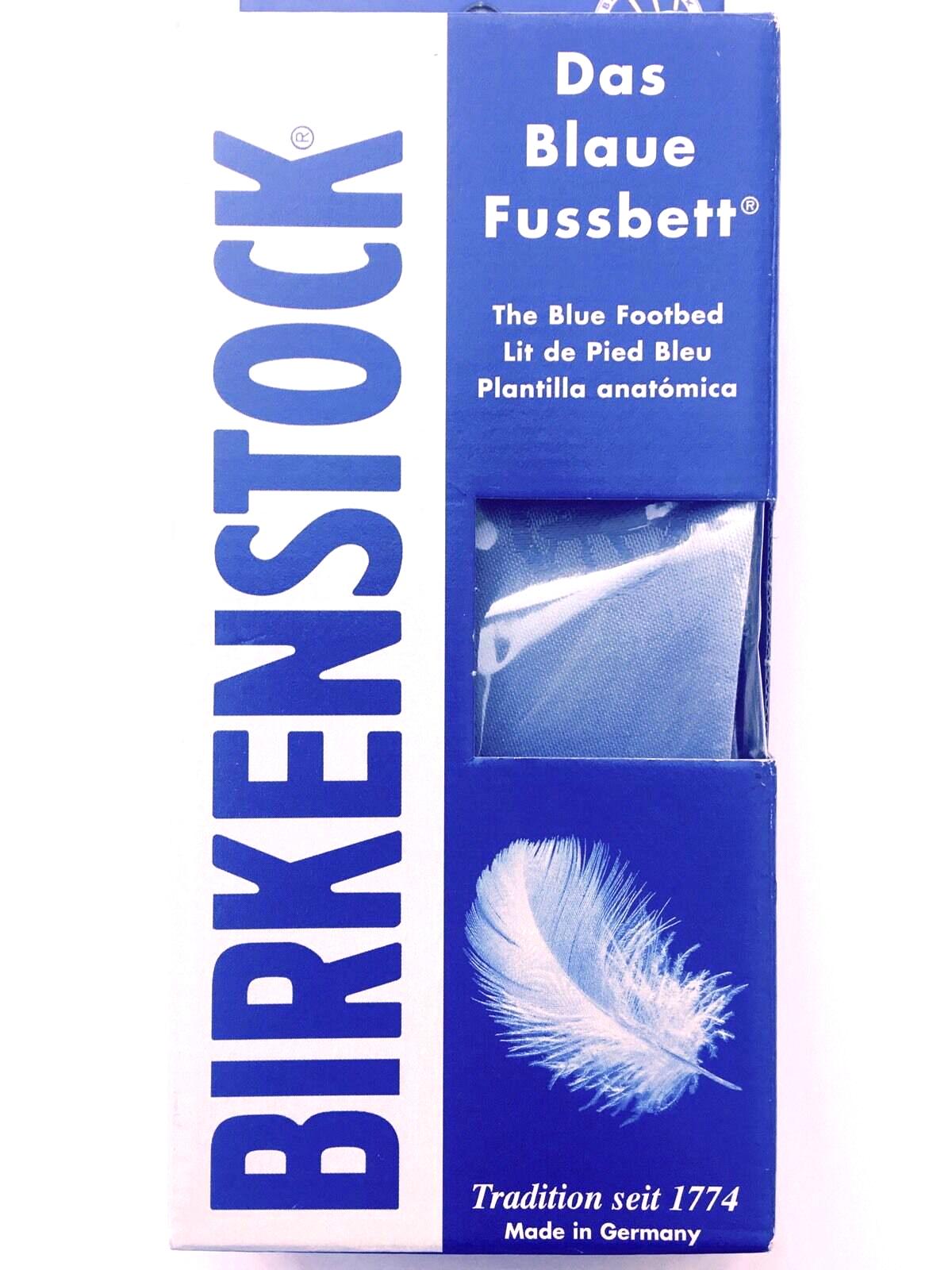 birkenstock the blue footbed