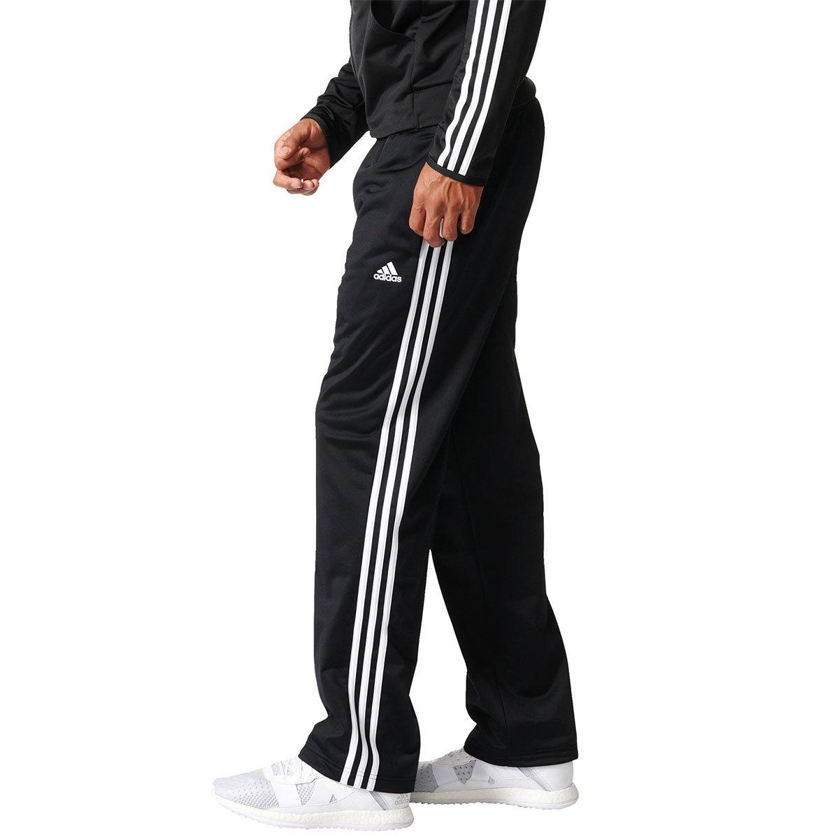adidas men's essentials tricot zipper pants