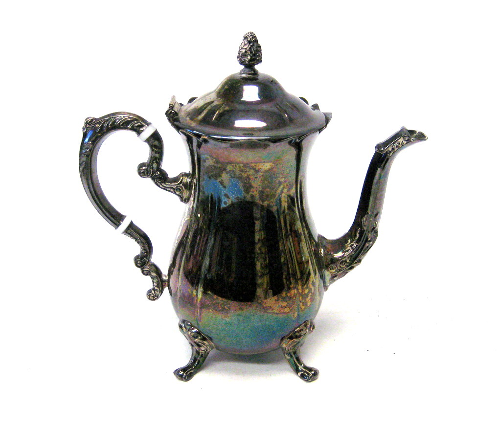 Vintage Leonard Silver Plated Coffee and Tea Service | Property Room