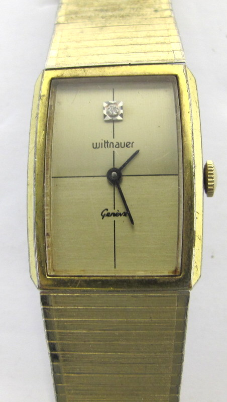 Wittnauer Watch Value >> Vintage Wittnauer 10 Kt Gold Plated Women S Watch Property Room
