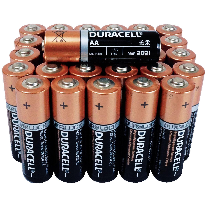 Duracell 30 AA Batteries Copper Top Alkaline Long Lasting