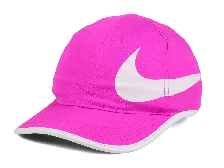innovative design fee6a cab80 NWT Hot Pink Nike Featherlight Swoosh Cap