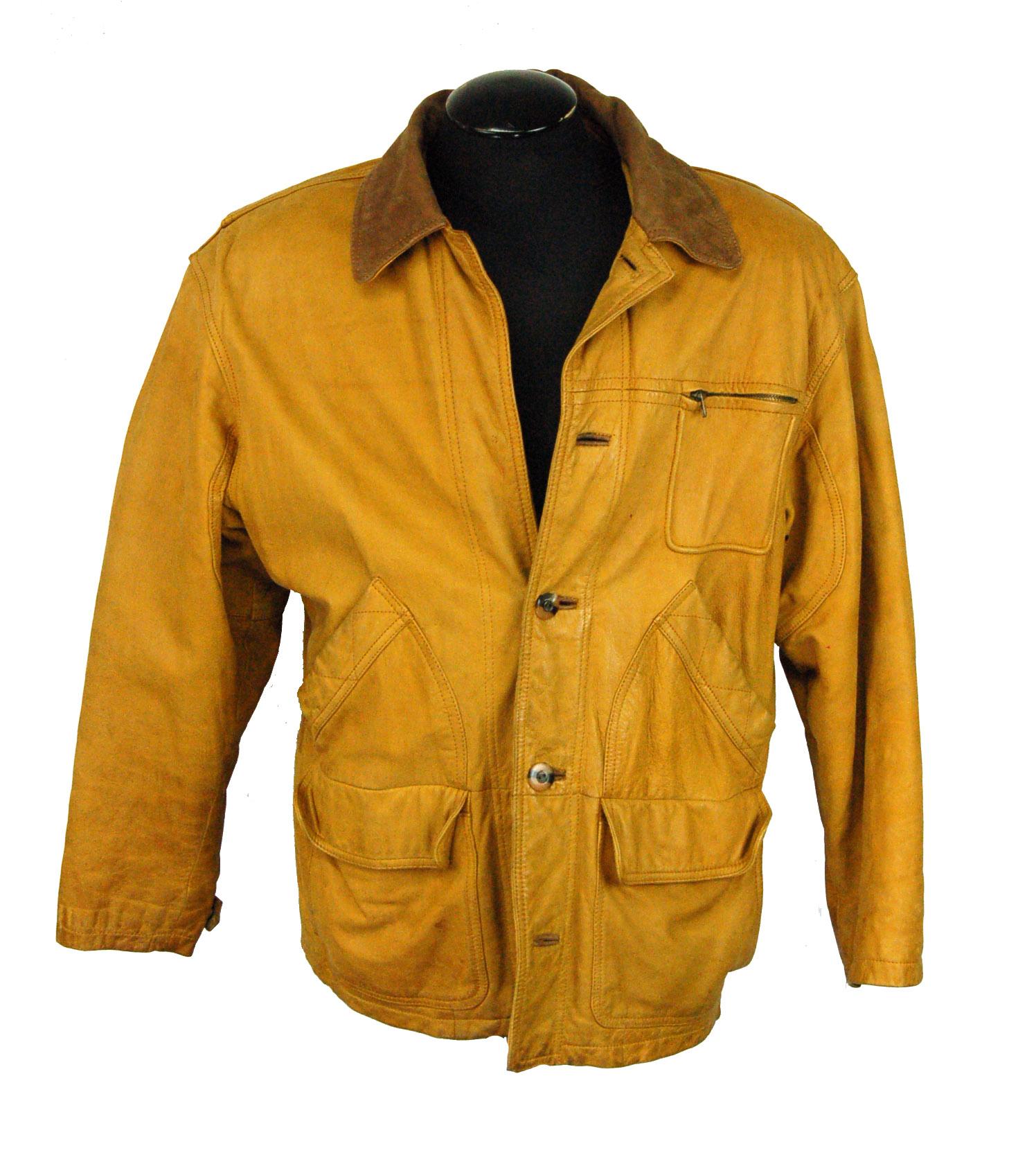 7aafab3cc Vintage Winlit Leather Men's Jacket - Size Medium   Property Room