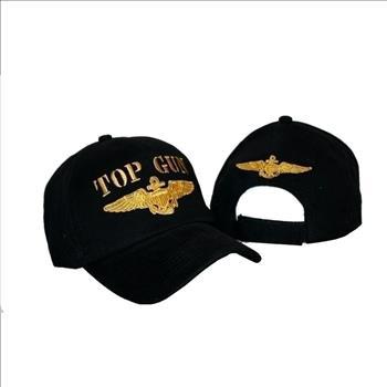 1fa14e5abf6 embroidered-black-military-us-navy-top-gun-baseball-ball-hat-cap -3d-tom-cruise