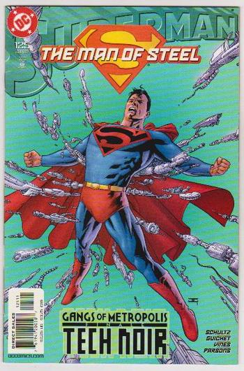 2002 DC Comics Superman The Man Of Steel #125 Issue