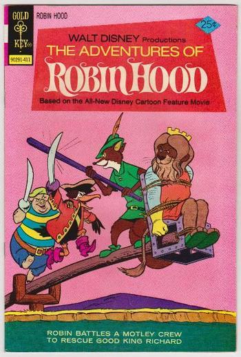 1974 Adventures Of Robin Hood #6 Issue - Gold Key Comics - Walt Disney