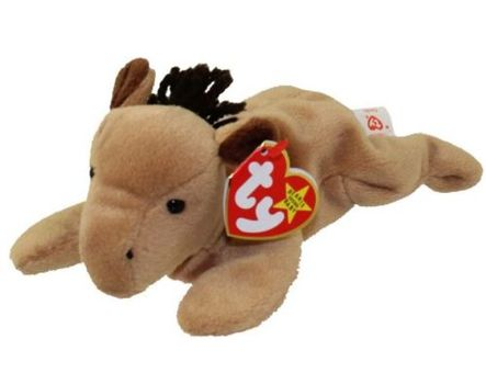 1995 Ty Beanie Baby Derby The Horse - New With Tags