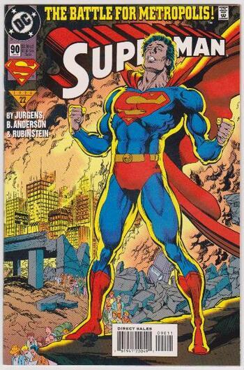 1994 DC Comics SUPERMAN #90 Issue