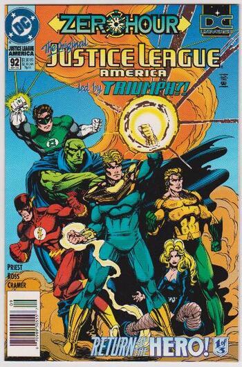 1994 DC Comics JUSTICE LEAGUE AMERICA #92 Issue