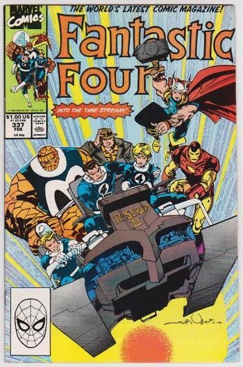 1990 Marvel Comics Fantastic Four #337 Issue