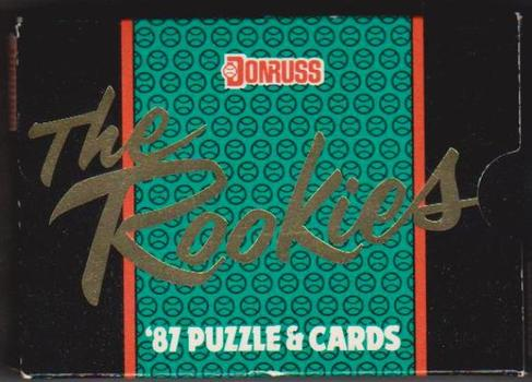 Sealed - 1987 Donruss The Rookies Baseball 56 Card Set - McGwire, Maddux + More