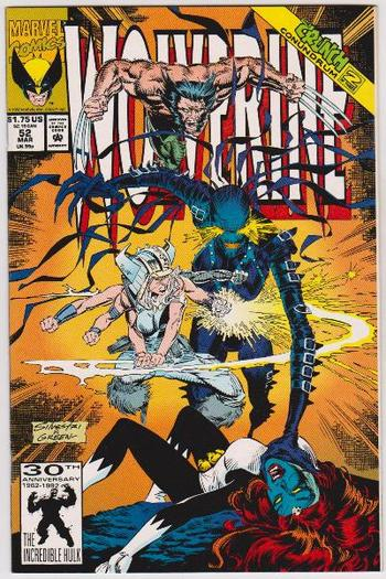 1992 Wolverine #52 Issue - Marvel Comics