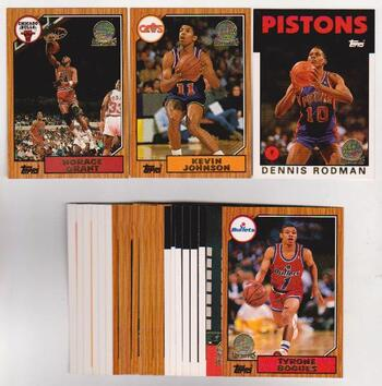 25 Different 1993 Topps Gold Archives The Rookies Cards - Dennis Rodman + More