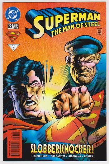 1996 DC Comics Superman The Man Of Steel #53 Issue