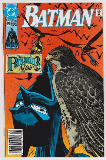 1990 DC Comics BATMAN #449 Issue