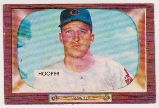 1955 Bowman Bob Hooper #271 Card - Cleveland Indians