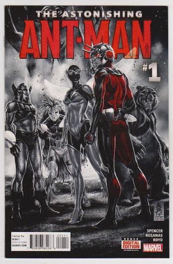 2015 THE ASTONISHING ANT-MAN #1 Issue - Marvel Comics