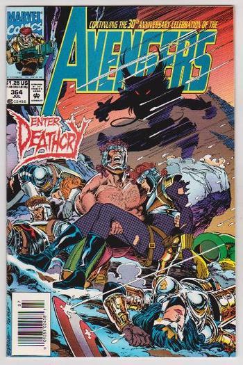 1993 AVENGERS #364 Issue - Marvel Comics