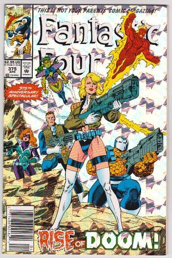 1993 Marvel Comics Fantastic Four #375 Issue