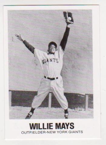1977 TCMA Willie Mays #8 Card - HOF'er
