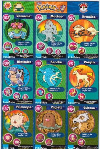 1999 Pokemon Master Trainer Collector Set 9 Card Uncut Sheet #3 w/ Blastoise + More