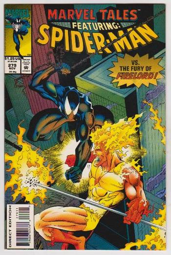 1993 Marvel Tales Featuring SPIDER-MAN #279 Issue - Marvel Comics