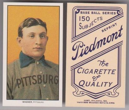 Lot of 10 1910 T-206 Honus Wagner - Wagner Estate, CMG Authentic Reproduction