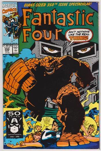 1991 Marvel Comics Fantastic Four #350 Issue