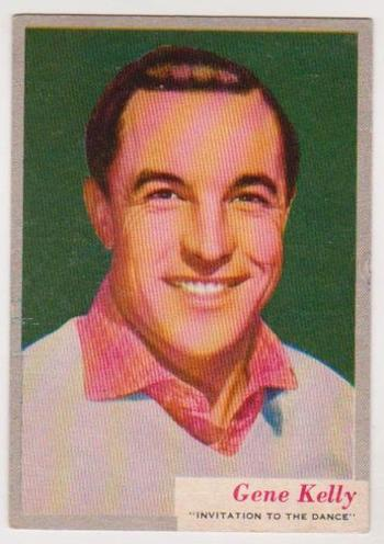 1953 Topps Who-z-at Star Gene Kelly #37 Card