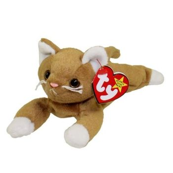 1993 Ty Beanie Baby Nip The Cat - New With Tags