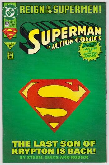 1993 DC Comics SUPERMAN IN ACTION COMICS #687 Issue