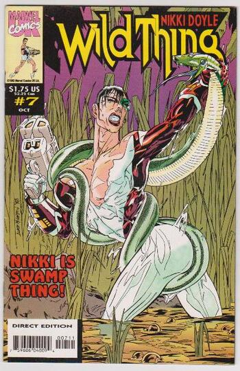 Marvel Comics - 1993 Wild Thing #7 Issue