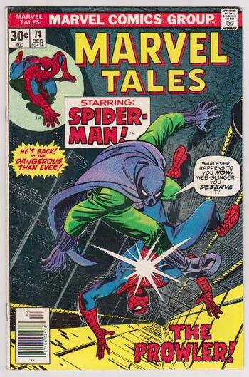 1976 Marvel Tales Featuring SPIDER-MAN #74 Issue - Marvel Comics
