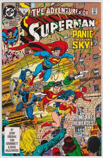 1992 DC Comics The Adventures Of Superman #489 Issue