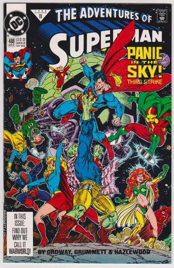 1992 DC Comics The Adventures Of Superman #488 Issue
