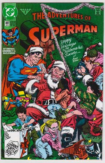 1992 DC Comics The Adventures Of Superman #487 Issue