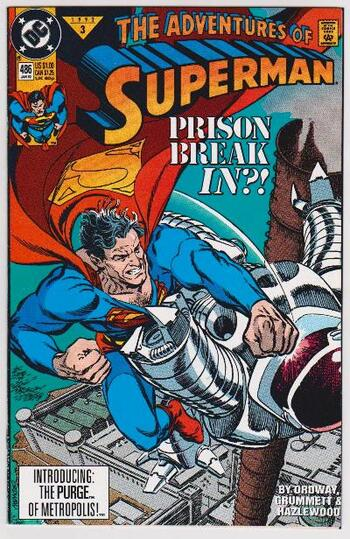 1992 DC Comics The Adventures Of Superman #486 Issue