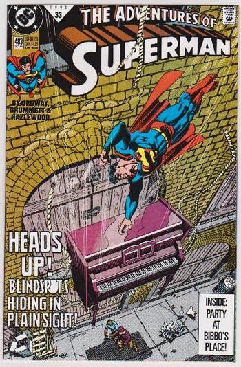 1991 DC Comics The Adventures Of Superman #483 Issue