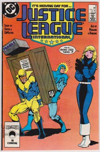 1987 DC Comics JUSTICE LEAGUE INTERNATIONAL #8 Issue
