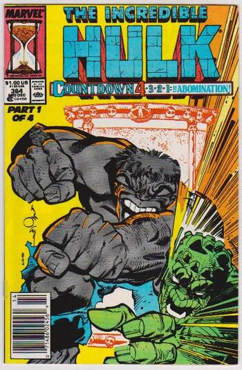 1989 The Incredible Hulk #364 Issue - Marvel Comics