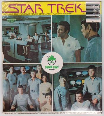 Sealed 1979 Star Trek 45 RPM Record - Tough to Find