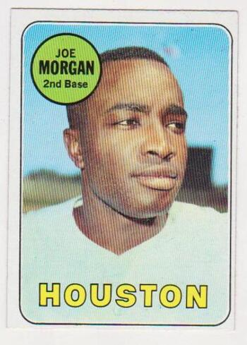 1969 Topps Joe Morgan #35 Card - HOF'er