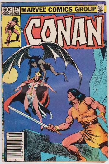 1983 Conan #147 Issue - Marvel Comics