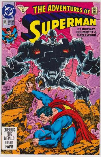 1992 DC Comics The Adventures Of Superman #491 Issue