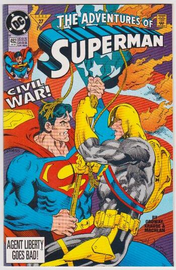 1992 DC Comics The Adventures Of Superman #492 Issue