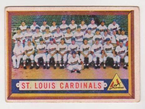 1957 Topps St. Louis Cardinals #243 Team Card w/ Stan Musial + More