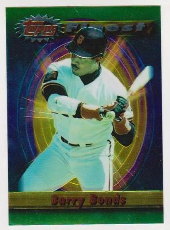 1994 Finest Jumbo Barry Bonds #230 Card - Only Found In Boxes - Scarce