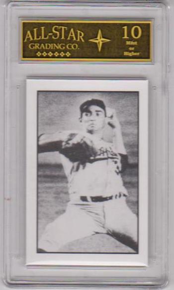 Graded 10 - Sandy Koufax 1984 R.G.I. #3 Card - HOF'er