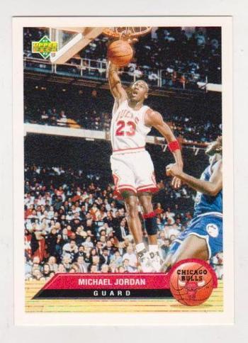 1992-93 Upper Deck McDonald's Michael Jordan #CH4 Card